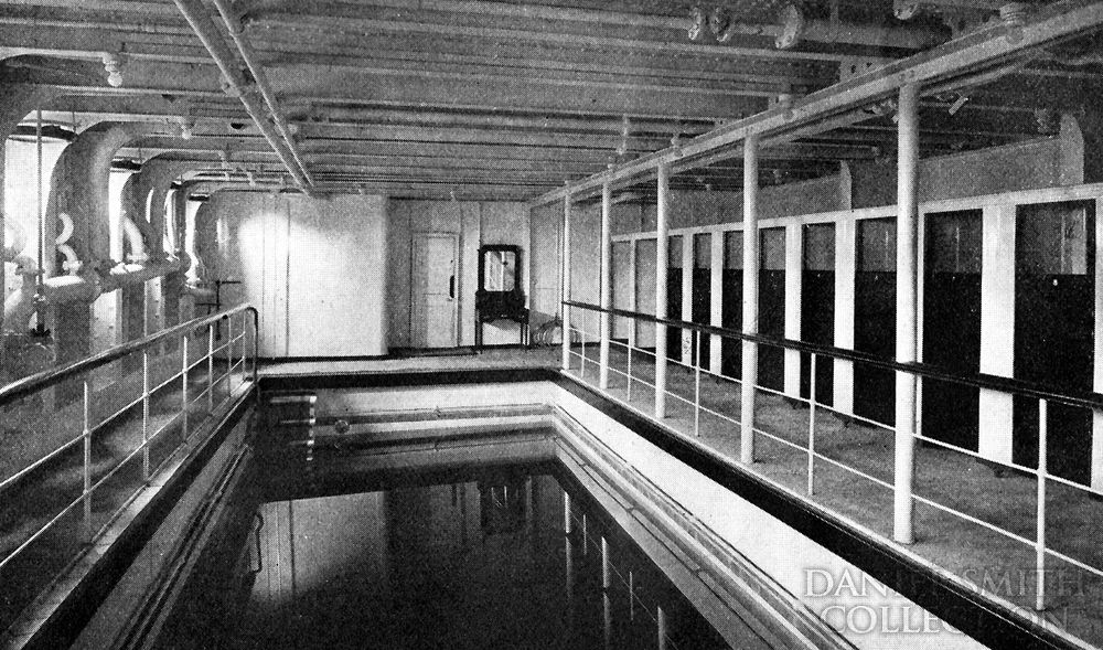 Swimming pool r m s titanic pinterest - Was the titanic filmed in a swimming pool ...