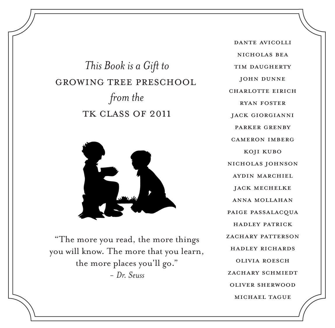 kindergarten graduation program template