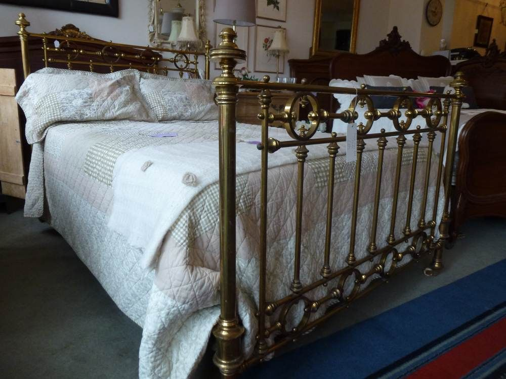 Antique Iron Beds By Cathouse Beds Brass Bedroom Iron Bed Frame Iron Headboard
