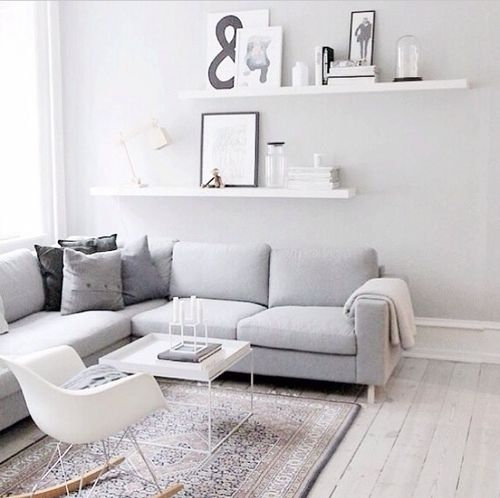 Scandinavian Living Room Grey Walls From Createcph Another Reasons To Love
