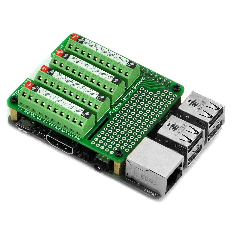 Electronics Salon Pi Screw Terminals Block Breakout Module for ...