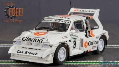 32/Slot Car Scalextric Peugeot 205/T16/della Scala 1