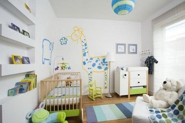 Wandgestaltung Babyzimmer Junge Nice Design