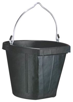 Check out your local McCoy's for availability on Farm and Ranch products.  www.mccoys.com   Bucket, Galvanized fittings, Rubber