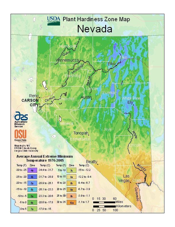 Usda Plant Hardiness Zone Map Las Vegas Is 9a Plant Hardiness
