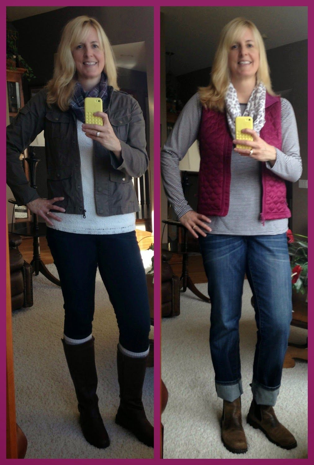 Two Teens and Their Mama: Create28 With Carrie - Jackets and Vests by @abbymarie67