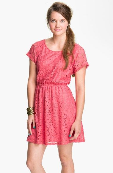 ac946776bec8 Lush Lace Dress (Juniors) available at  Nordstrom