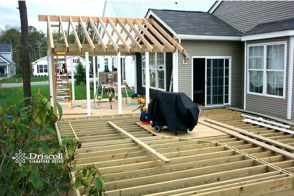 16++ Extending gable roof over deck ideas in 2021