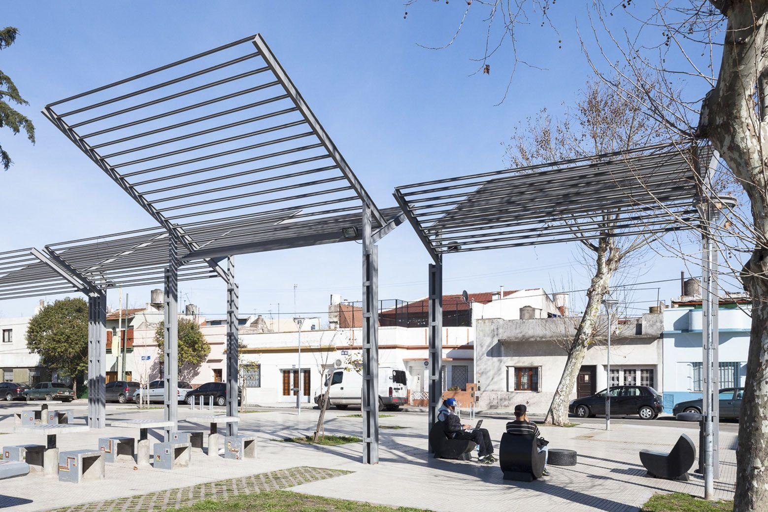 Gallery of Magaldi and Unamuno Squares / Galpón Estudio - 6