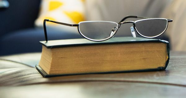 Half frame reading glasses have less facial coverage, but the same ...