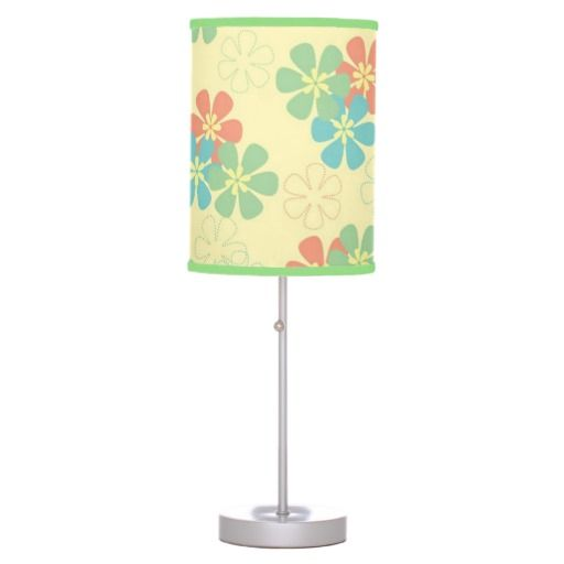 Spring Flowers Lamps