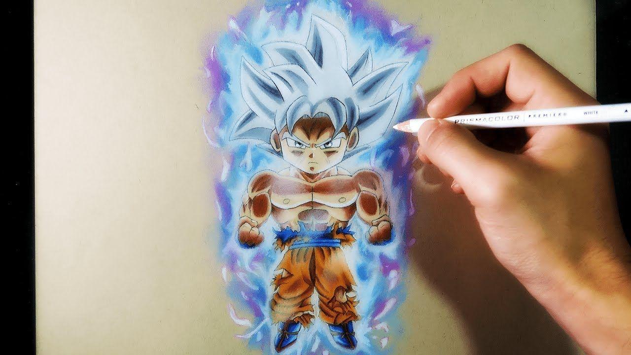 Como Dibujar A Goku Chibi Migatte No Gokui Dominado Al 100 Artemaster Youtube Como Dibujar A Goku Dibujo De Goku Goku Chibi