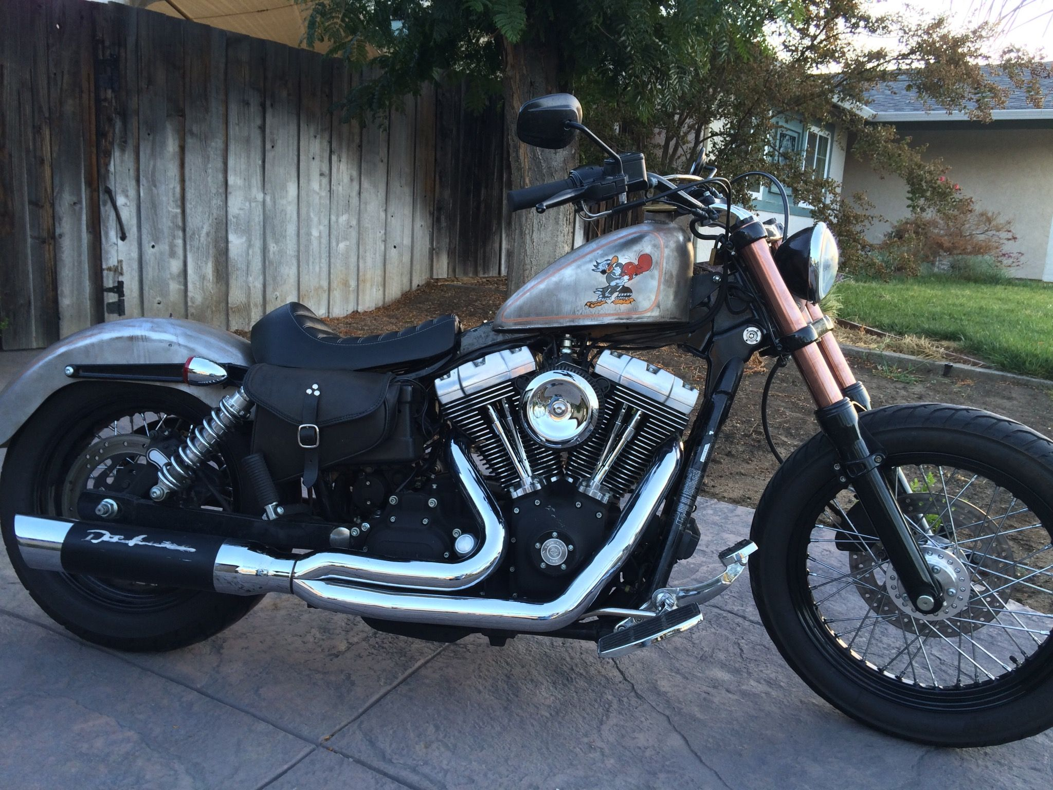 Dyna With Sportster Tank Motos