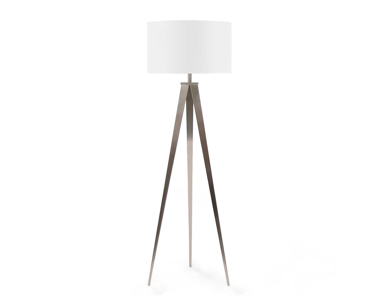 Structube Tripod Floor Lamp In White 199 White Tripod Floor Lamp Tripod Floor Lamps White