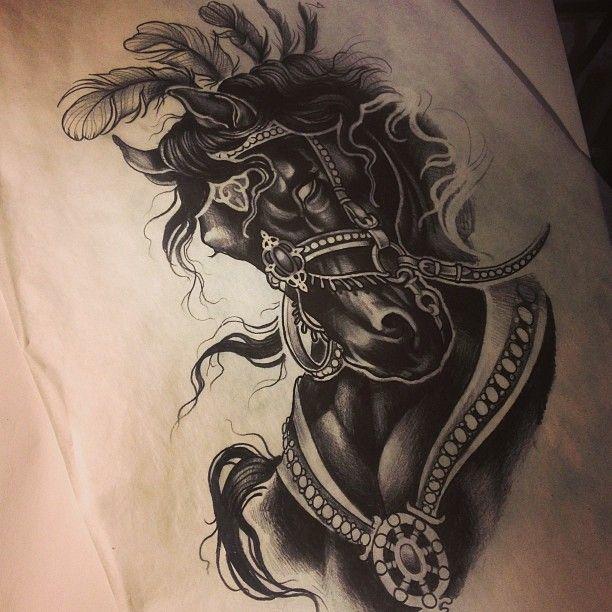 Dark Horse Tattoo – Jerusalem House