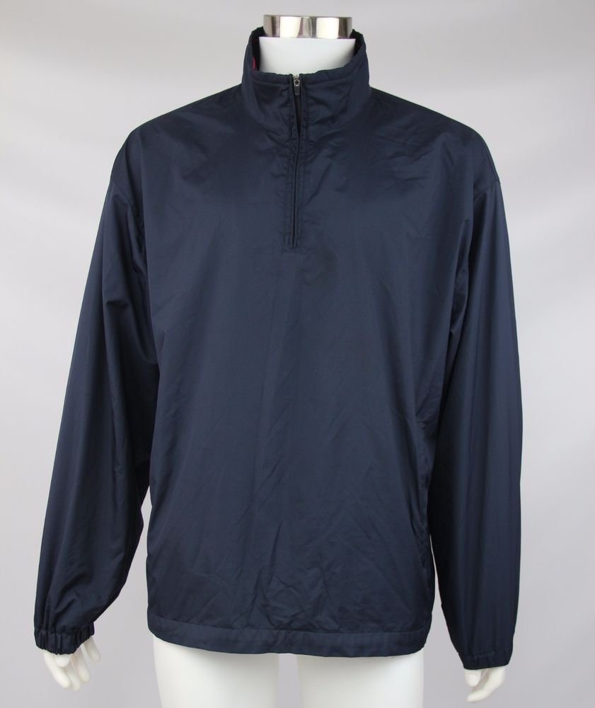 Tommy Hilfiger Golf Mens Size Large Navy Blue Quarter Zip ...