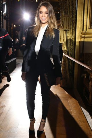 The best of the front row: Jessica Alba