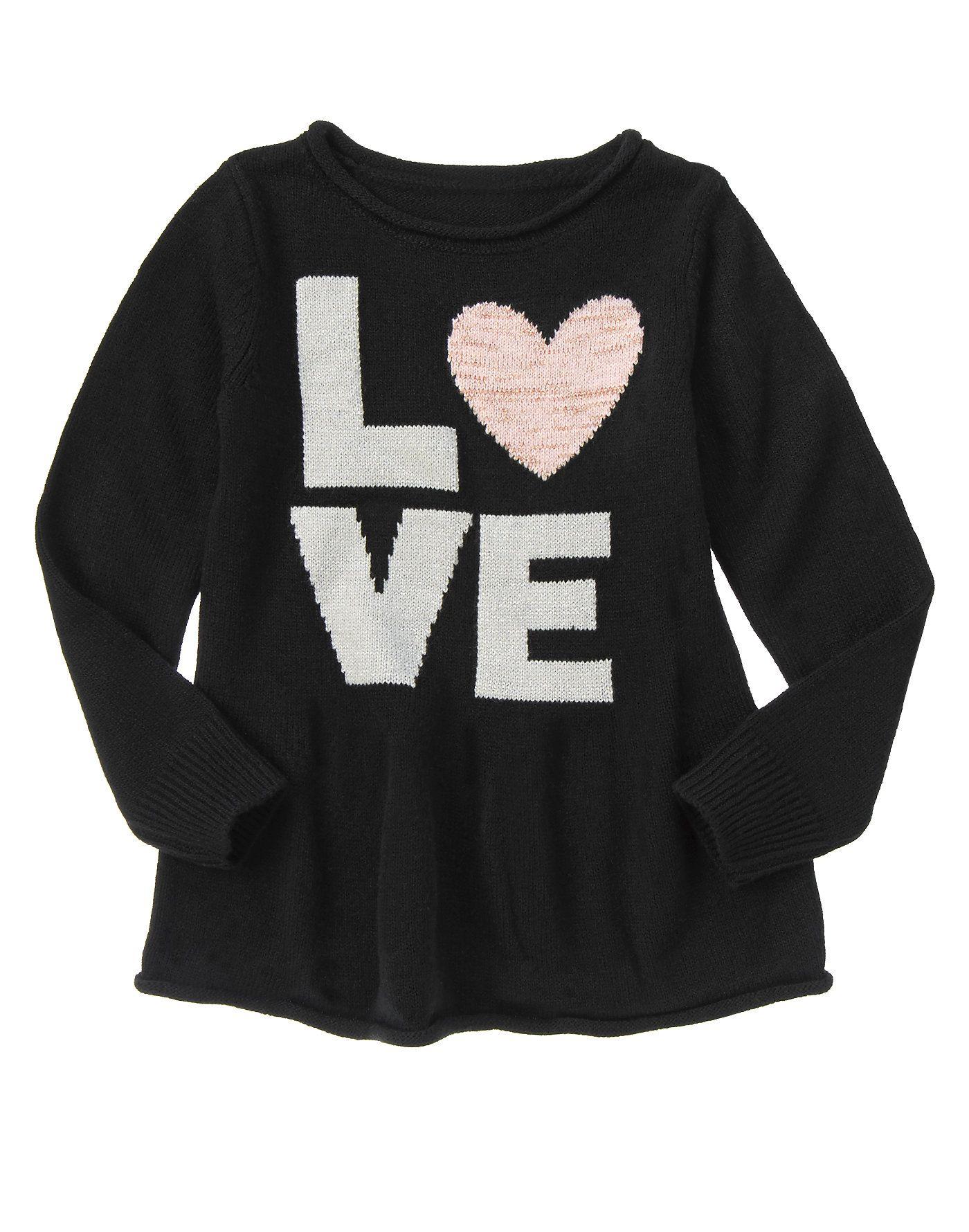 Love Peplum Sweater at Crazy 8