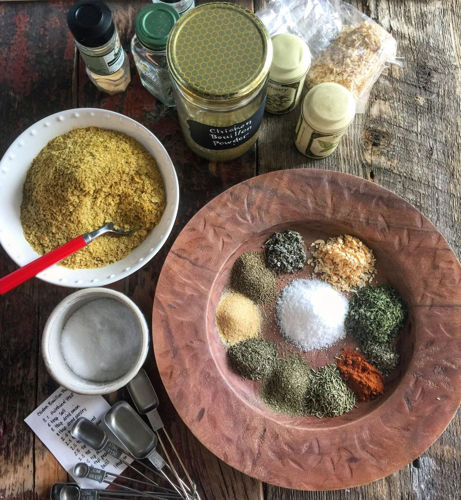 Faux chicken bouillon powder recipe dried marjoram
