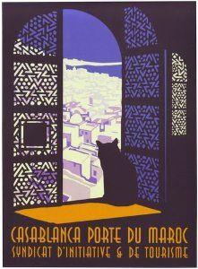 1930's Casablanca Morocco Tourism Poster A3 Reprint: Amazon