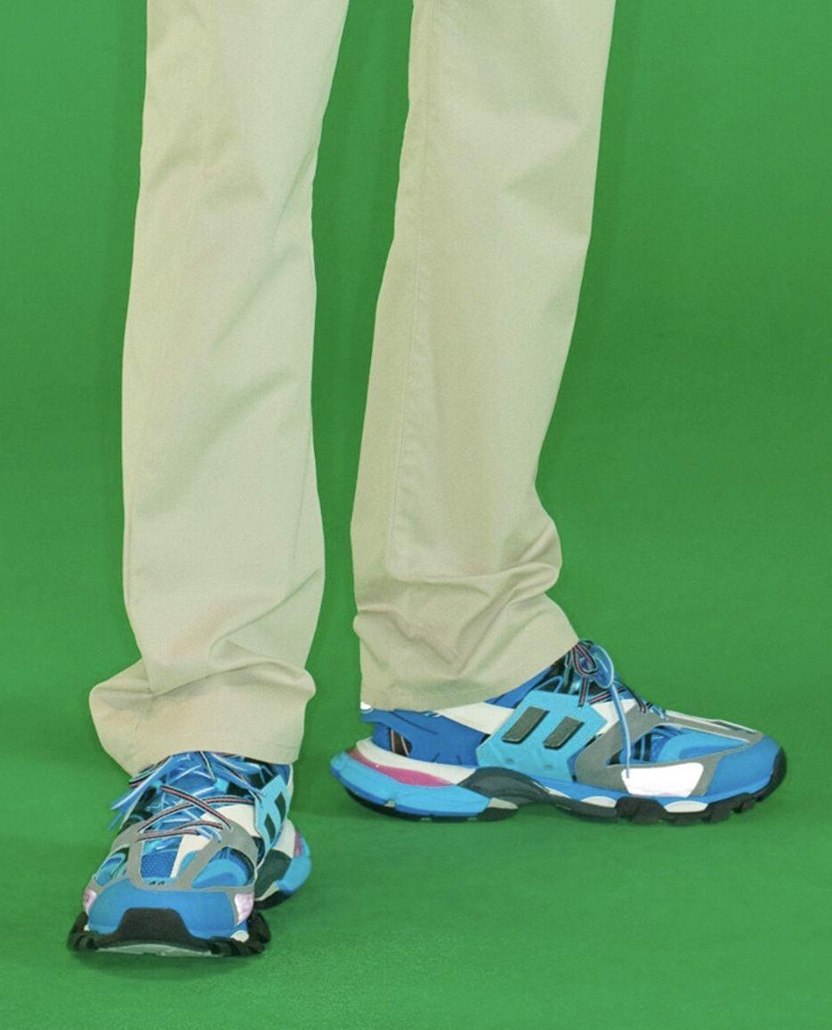 eae01e36eb1e1 BALENCIAGA Resort 2019 Track Trainers Blue Turquoise Colorway