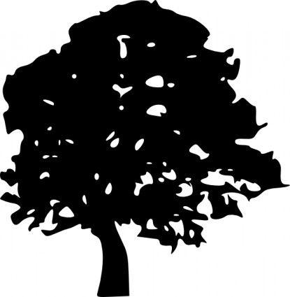 Tree Silhouettes Clip Art Vector Clip Art Free Vector For Free Tree Silhouette Silhouette Clip Art Oak Tree Silhouette