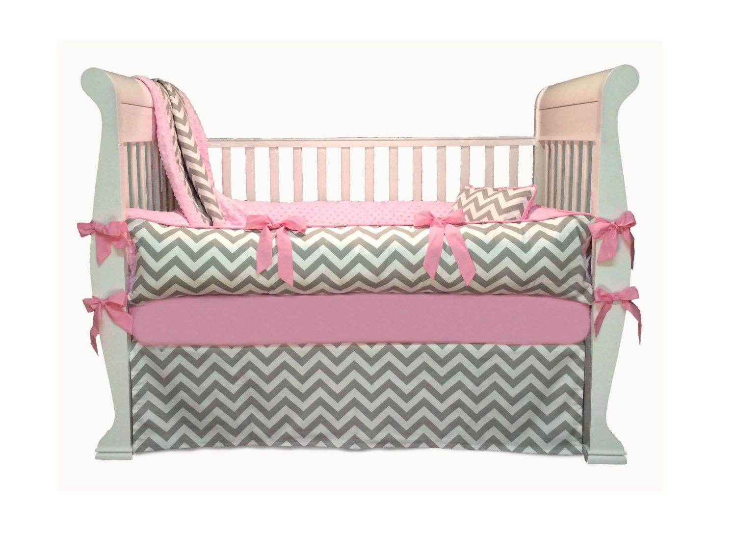 linens light linen and crib bedding pink baby for pin cribs