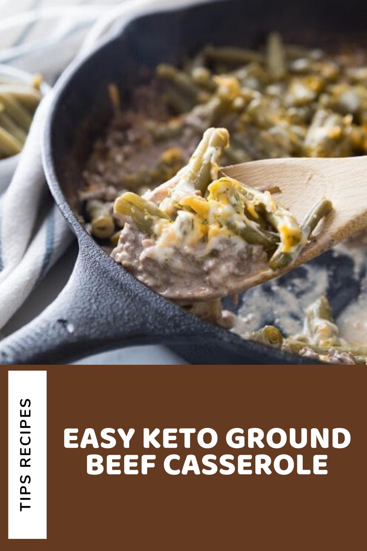 Easy Keto Ground Beef Casserole In 2020 Dinner Recipes Best Dinner Recipes Recipes