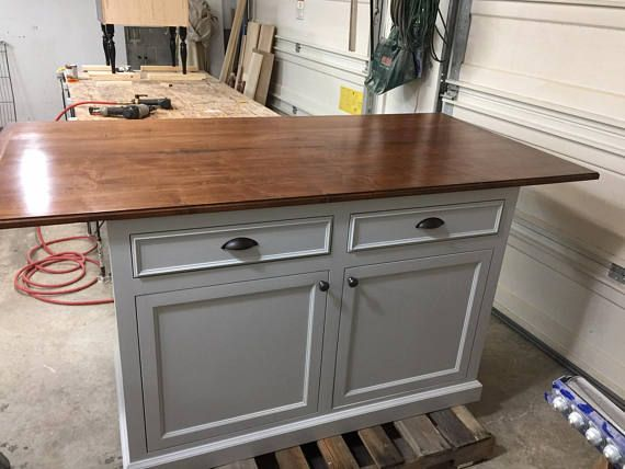kitchen island with seating on 3 sides large finished maple top rh in pinterest com kitchen island with seating on 3 sides Long Kitchen Island with Seating On 3 Sides