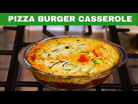 Ideal Protein Diet - Pizza Burger Casserole