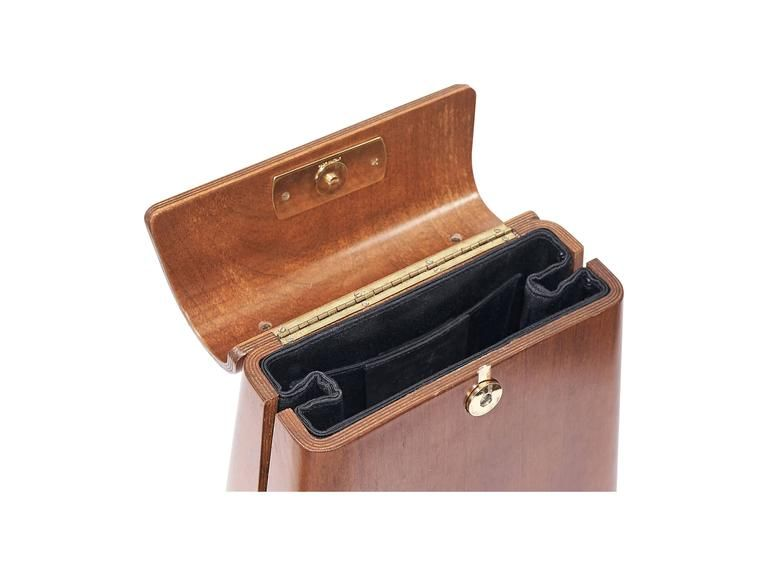 2019 original elegantes Aussehen letzte Auswahl Limited Edition Salvatore Ferragamo Wood Bag | Would Wood ...