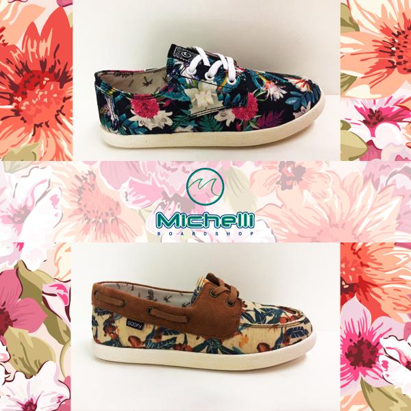 E vemos flores em você. ♪ Olha que LINDOS estes tênis florais da Goofy. Style né? Qual faz mais seu estilo? Nós queremos saber!