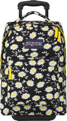 196075eb4546 JanSport Wheeled SuperBreak Backpack Black Lucky Daisy - via eBags.com!