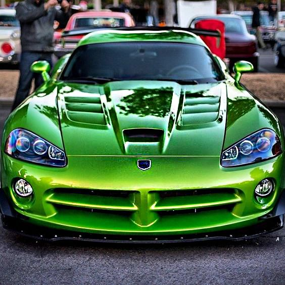 #Vicious #Venom #Green #Viper #Car #SuperCar