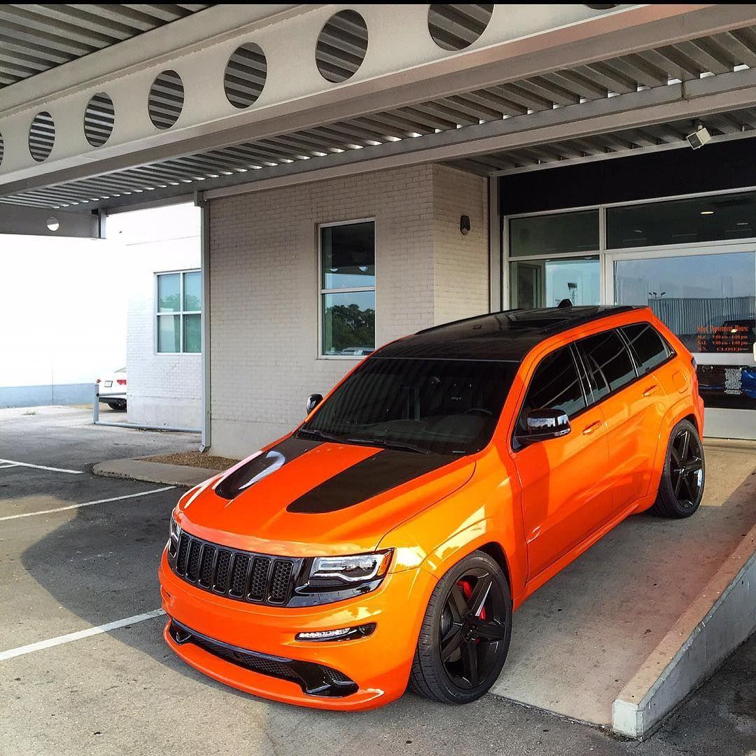 The Agent Agentorange Teamstormtrooper Agentorangesrt Orangecrush Wediditagain Jeep Grand Cherokee Srt Custom Jeep Jeep Suv