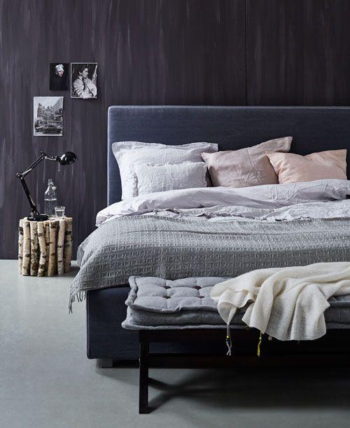 Maak van je slaapkamer een heerlijk slaapdomein kies uit de verschillende hoofdborden in - Grijze hoofdslaapkamer ...