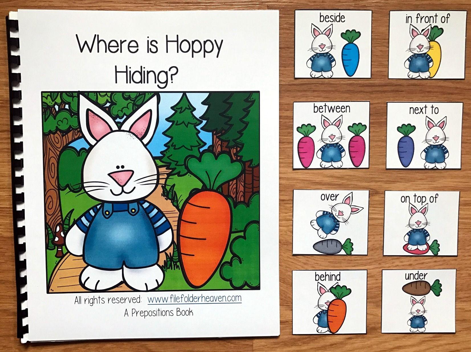 Where Is Hoppy Hiding Bunny Adapted Book