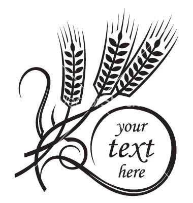Non Copyrighted Drawings Wheat Vector Art Download Bakery