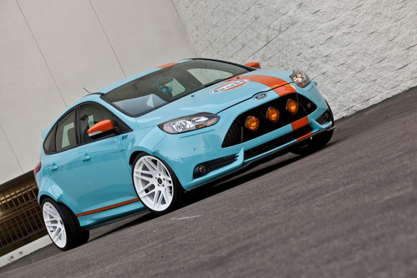 Win This 2014 Gulf Oil Ford Focus St Hot Rod Magazine Blog