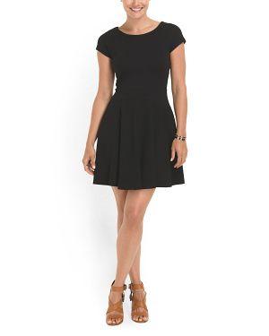DIANE VON FURSTENBERG - Delyse Flared Dress $149.99 - T.J. Maxx