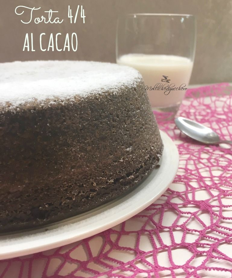torta 4/4 al cacao
