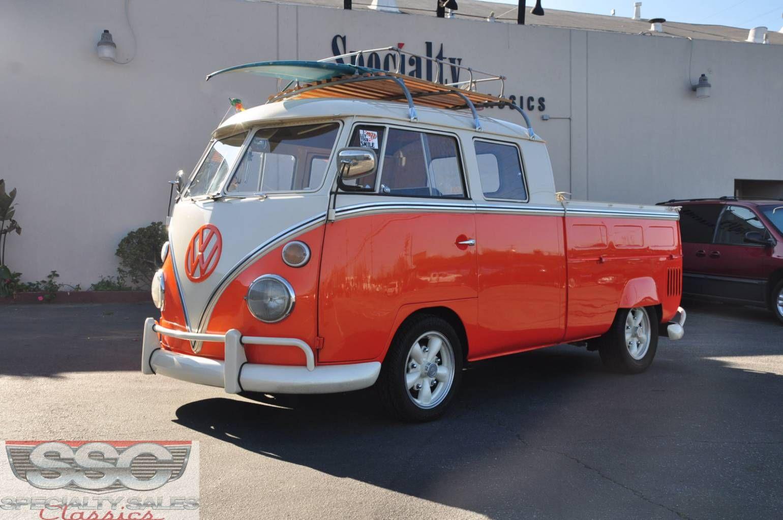 1963 volkswagen transporter crew cab
