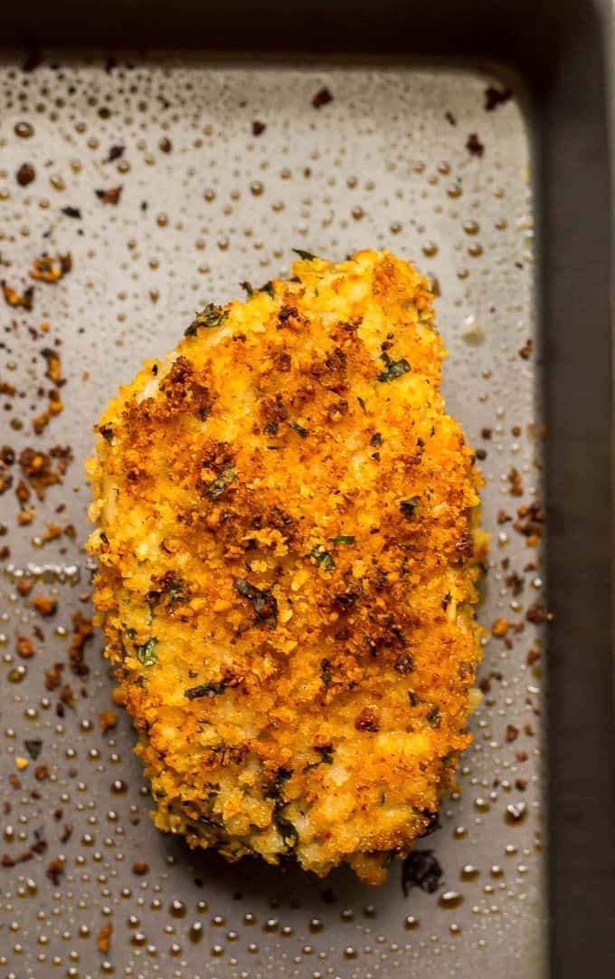 Crunchy baked pork chops (+ video) - Family Food on the Table