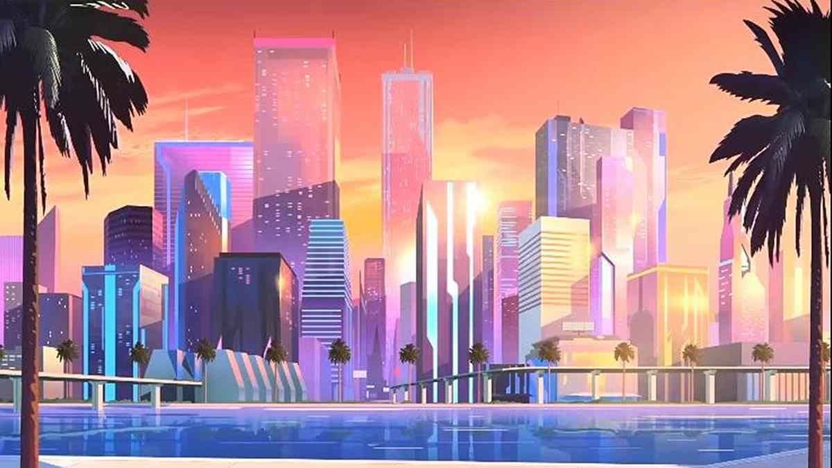 Image Result For 80s Anime Art Style City Wallpaper City Aesthetic City Background