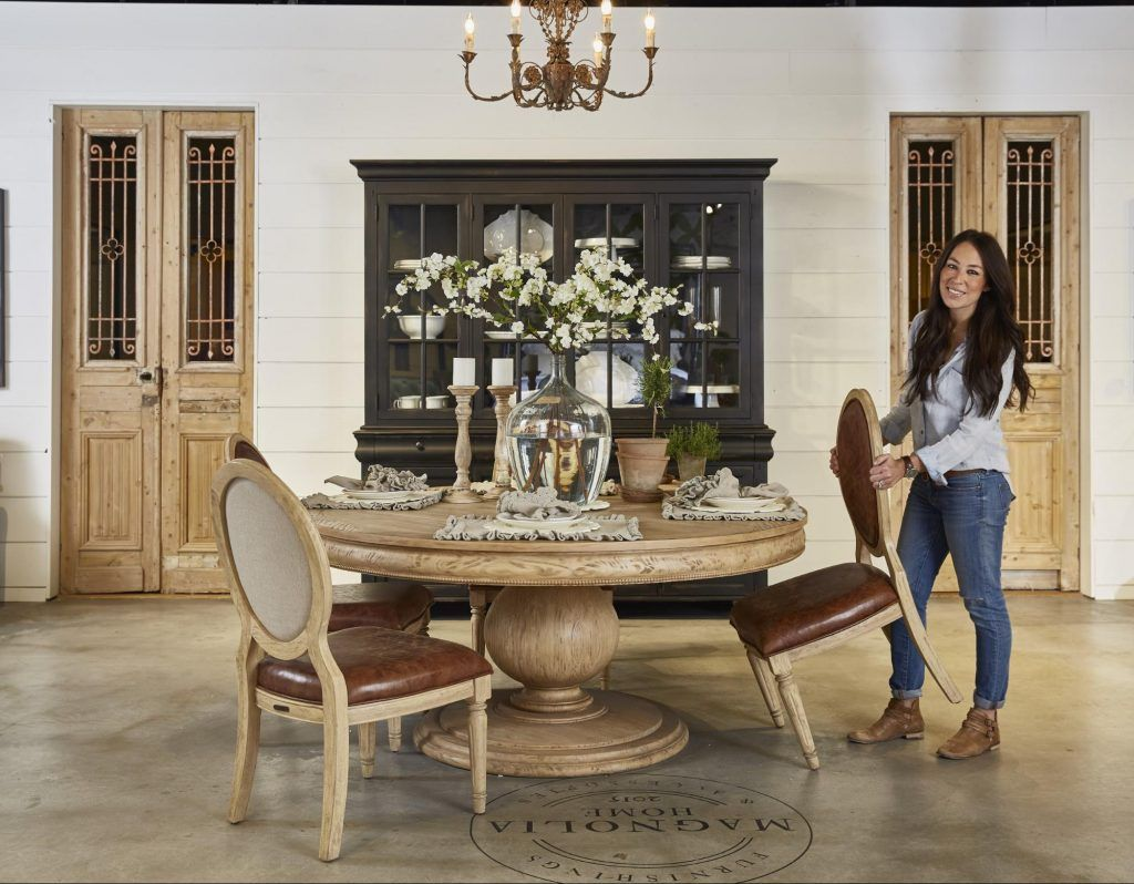 The Making Of A Furniture Showroom Fixer Upper Farmhouse Dining
