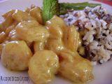 Recette Crevettes indiennes au curcuma