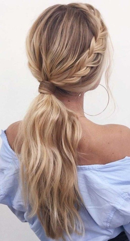 20 Cute Women Ponytail Hairstyle Ideas To Update Your Look Viviehome In 2020 Ponytail Hairstyles Hair Styles Hairstyle