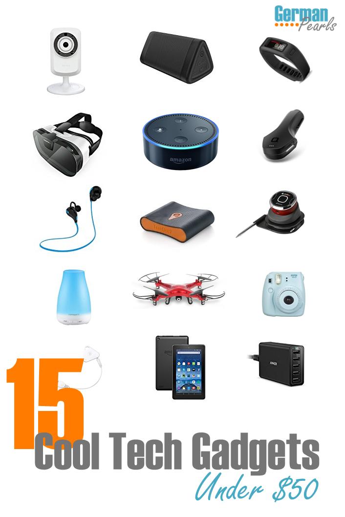 15 Cool Tech Gadgets Under $50 | The Best of German Pearls | Tech ...