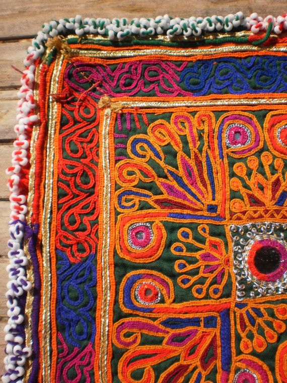 Embroided Afghan
