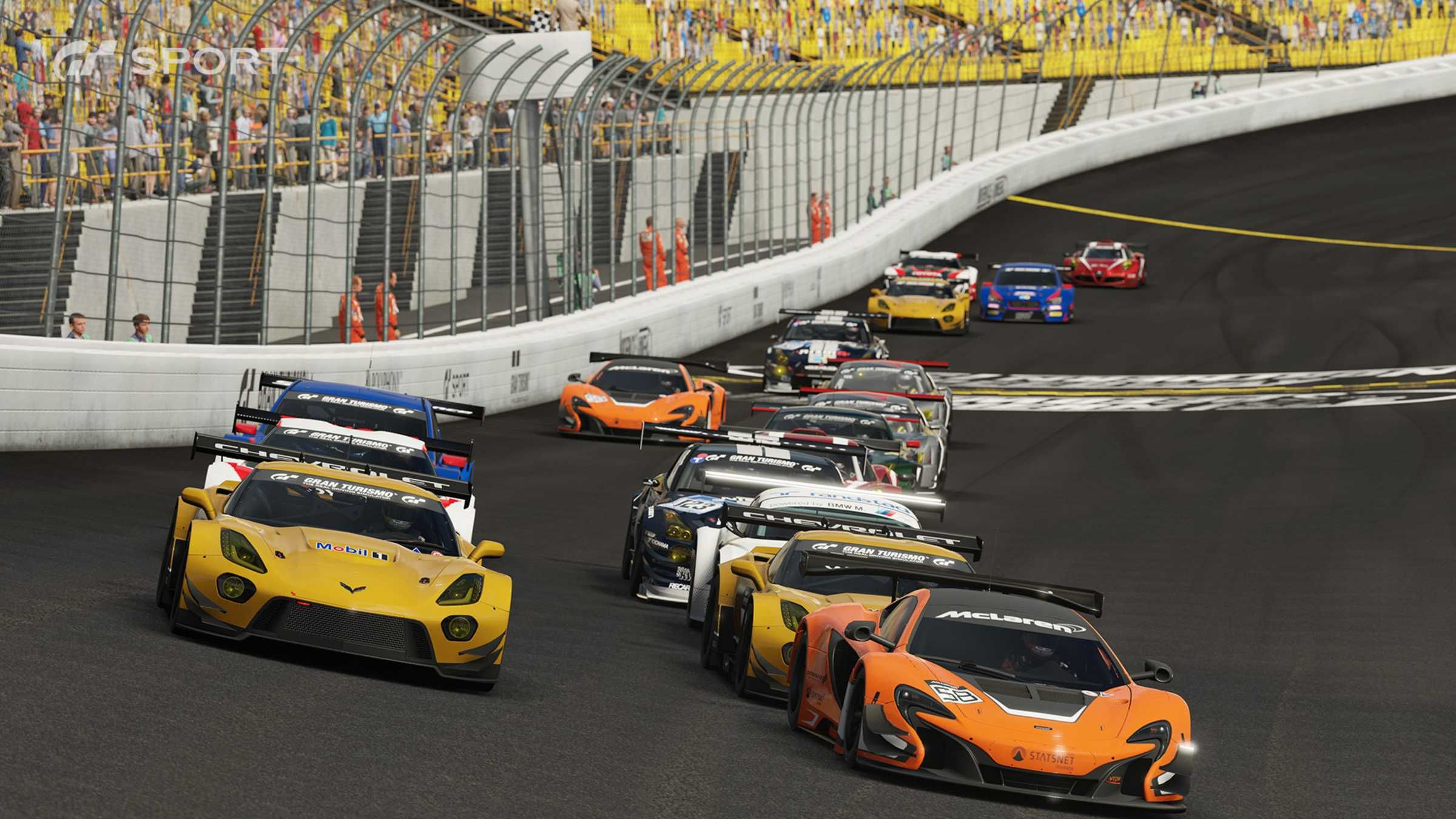 Gran Turismo Sport is the first online racing to be